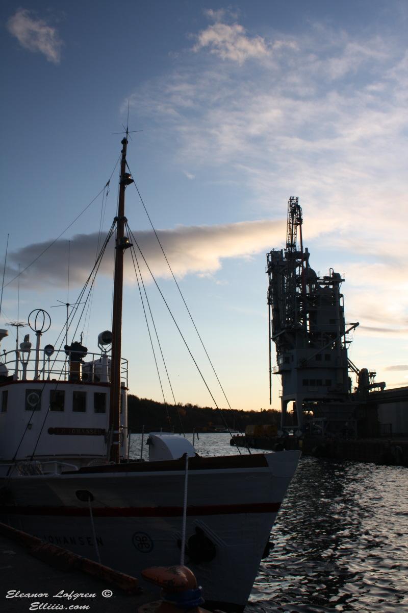 Oslo fishing boat