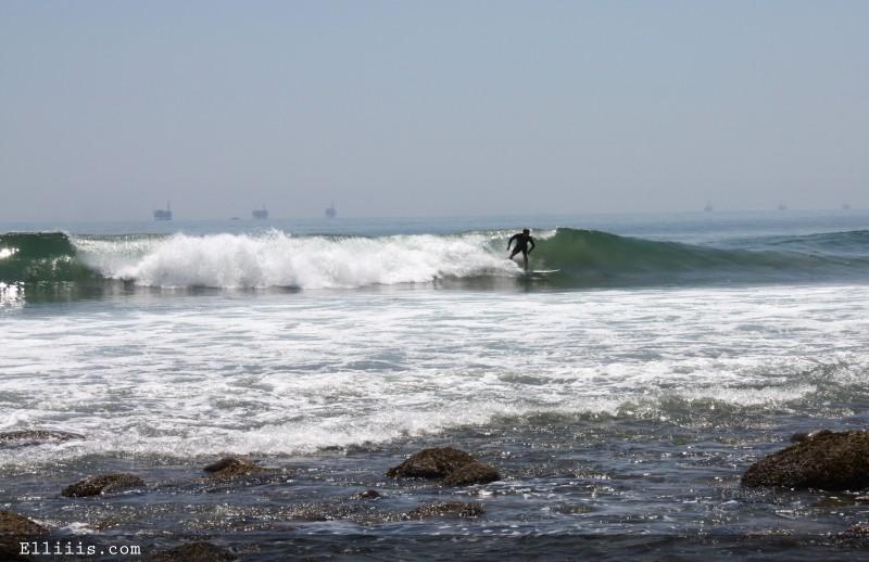 Santa Barbara surf point