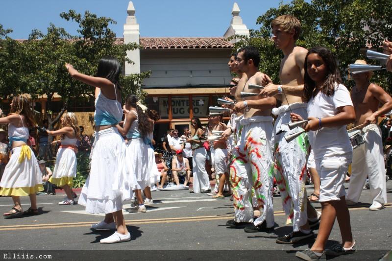 Summer solstice parade